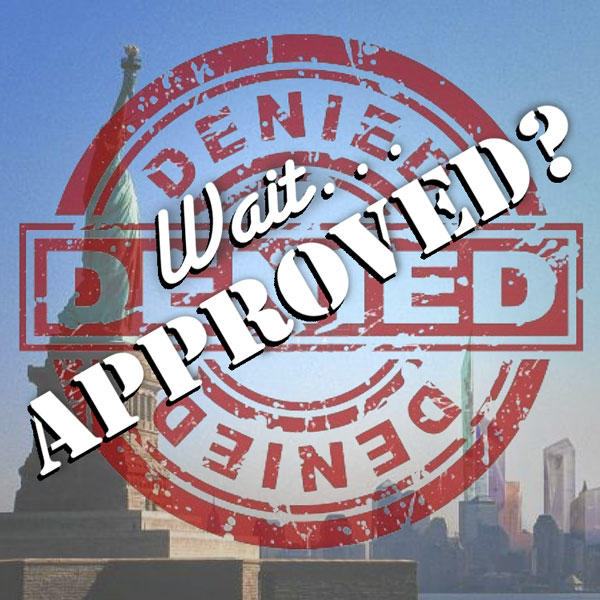 Immigration Application Denied or Approved