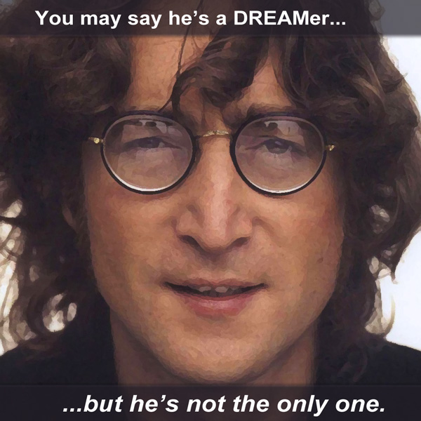 John Lennon - Not The Only DREAMer